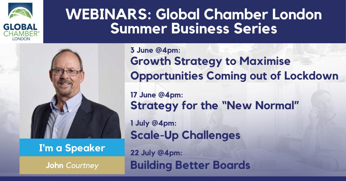 Globinar Global Chamber London Summer Business Series